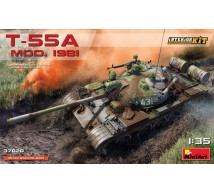 Miniart - T-55 A mod 1981