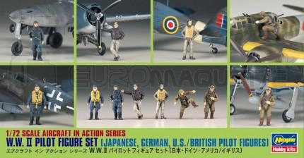 Hasegawa - Pilotes WWII
