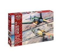 Italeri - Combo Fw-190 D-9 / Bf-109 F-4 (WT)