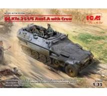 Icm - SdKfz 251/6 & crew
