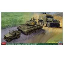 Hasegawa - Coffret JGSDF M24/M3A1/Jeep