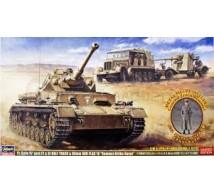 Hasegawa - Coffret DAK Pz IV, SdKfz & 88mm gun (LE)