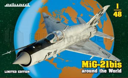 Eduard - Mig 21 bis around the world