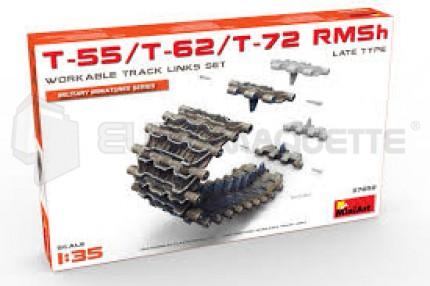 Miniart - T-55/62/72 tracks RMSh late