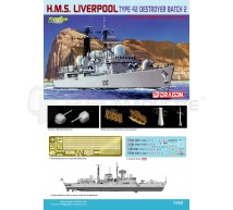 Dragon - HMS Liverpool 1/700