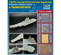 Trumpeter - PLA Aircraft carrier detail set (Trumpeter 06725)