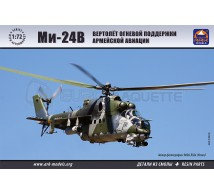 Ark models - Mi-24V & resin parts