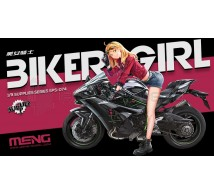 Meng - Manga Biker Girl (For Ninja 1/9)