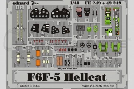 Eduard - F6F-5 Hellcat (hasegawa)