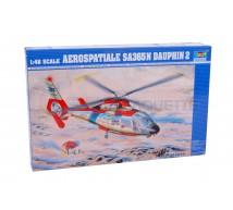 Trumpeter - SA 365N dauphin & Deco aeronavale