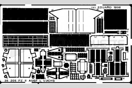 Eduard - Panzer II ausf L Luchs (icm)