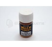 Vallejo - Pigment ocre jaune sombre