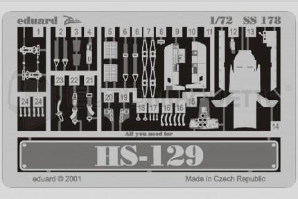 Eduard - Hs-129  (italeri/bilek)