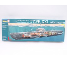 Revell - Type XXI & interieur