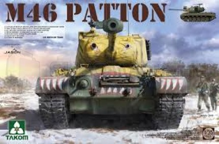 Takom - M46 Patton Korean War