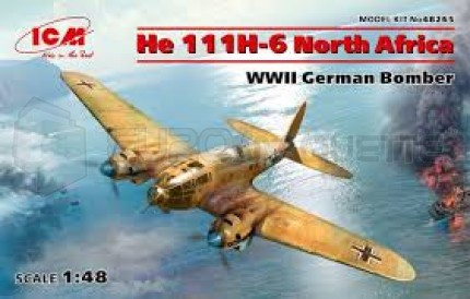 Icm - He-111 H-6 Africa