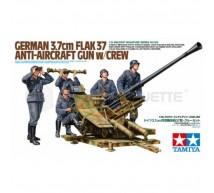 TAMIYA - 3.7cm Flak 37 avec Equipage