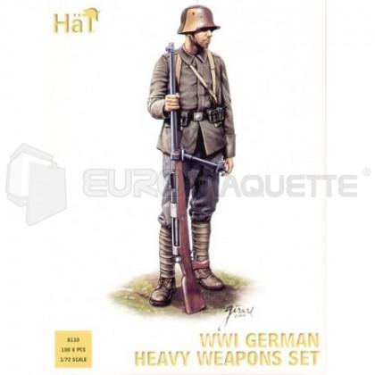 Hat - WWI German heavy weapons set