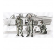 Cmk - Fouga pilots & mechanic