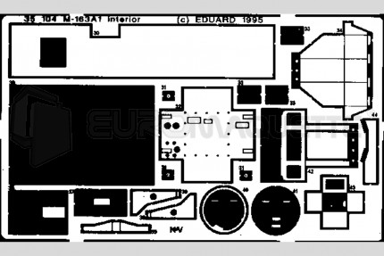 Eduard - M-163 A1 int. (italeri)