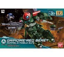 Bandai - HG Grimoire Red Beret (025735)