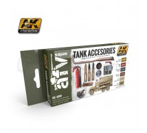 Ak interactive - Coffret  tank accessories (x5)