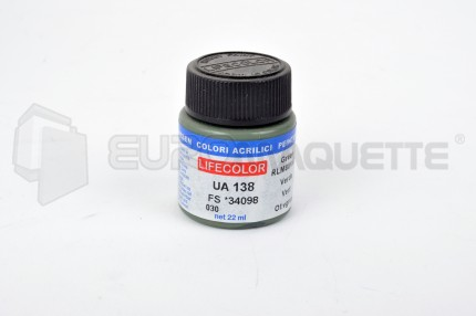 Life Color - Vert Olive RLM80 UA138 (pot 22ml)