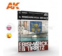 Ak interactive - Modelling Bismarck & Tirpitz 1/350/400 (ENG)