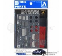 Aoshima - Lamborghini Sesto Elemento detail set