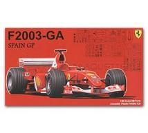 Fujimi - Ferrari F2003-GA Spain GP