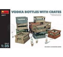 Miniart - Vodka bottles & crates