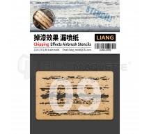 Liang model - Shipping effect airbrush stencils