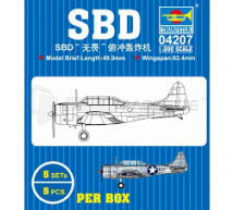 Trumpeter - SBD Dauntless 1/200 (x5)