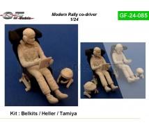 Gf models - Co pilote rallye sans casque