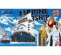 Bandai - One Piece Marine ship (0181585)