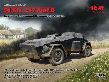 Icm - SdKfz 247 Ausf B