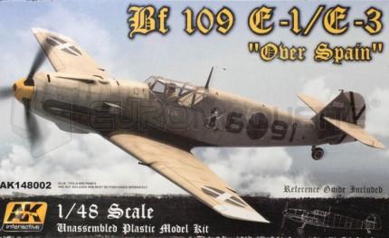 Ak interactive - Bf-109 E1/3 Over Spain