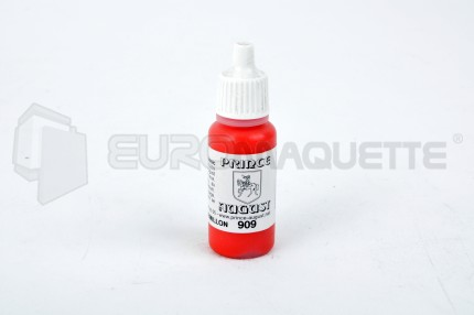Prince August - Rouge Cad. Vermillon 909 (pot 17ml)