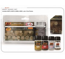 Ak interactive - Coffret  Heavy muddy