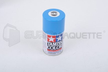 Tamiya - Bleu de France Brillant TS-10 (bombe 100ml)