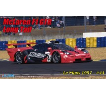 Fujimi - Mc Laren F1 GTR Long tail LM97 N°44 & PD