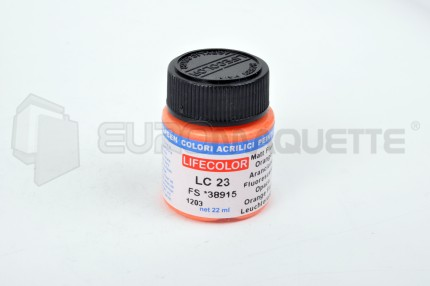 Life Color - Orange fluo LC23 (pot 22ml)