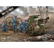 Das wrek - French 155mm C17S Howitzer