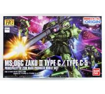 Bandai - HG MS-06C Zaku II Type C/C5 (0216745)