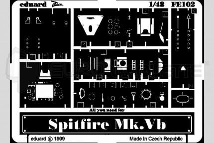 Eduard - Spitfire Mk Vb (tamiya)