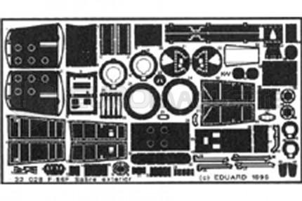 Eduard - F-86F Sabre ext. (hasegawa)