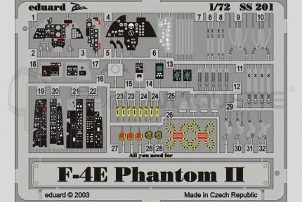 Eduard - F-4E Phantom (hasegawa)