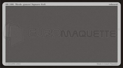 Eduard - Mesh Gauze / Square 6x6