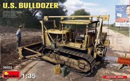 Miniart - US civil Bulldozer