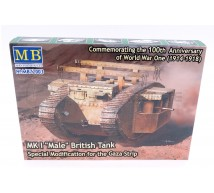 Master box - Mk I Male  British Tank